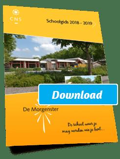 Morgenster Schoolgids 2018-2019
